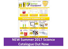 New Summer 2017 Science Catalogue Out Now!