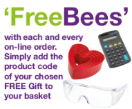 'FreeBees' With Each & Every On-Line Order