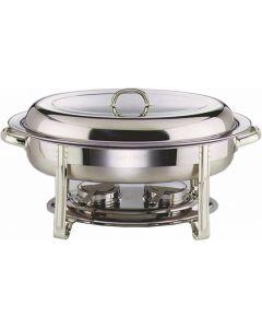 Chafing Dish Set Oval 32 x 54 x 30cm [777159]
