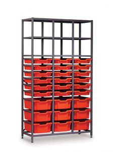 Gratnells 3625A Tall Treble Frame with Trays [1541]