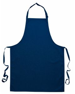 Cotton Bib Apron (Navy) [7027]
