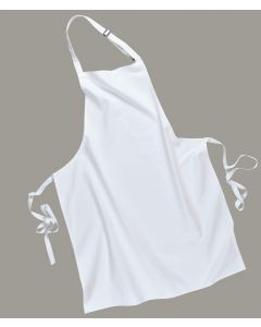 Cotton Bib Apron (Black) [7029]