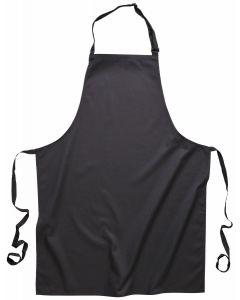 Bib Apron with Pockets Black [7369]