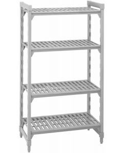 Camshelving Mobile 1400 x 400 x 1690 4 Tier Shelves [7904]