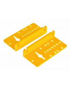 Angled Motor Mounting Plates 30 x 63mm [4289]