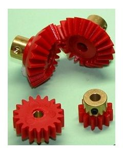 Brass Hub Gears Pack of 5 12T [4353]