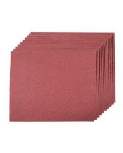 Aluminium Oxide Sheets 120 Grit Pk of 50 (5 Pks of 10) [94729]