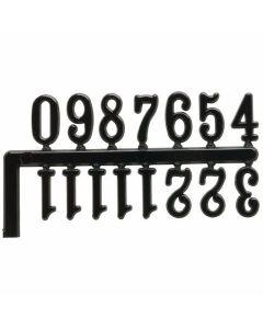 Clock Numerals Set - Black [4887]