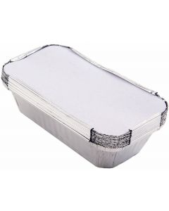 Foil Containers/Foil Trays Pack of 125 18.5 x 10 x 6cm [77047]