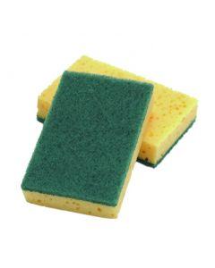 Catering Sponger/Scourer 15 x 9cm (10 Pieces) [777681]