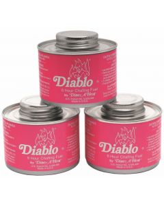 Diablo Chafing Fuel 6Hr Can Pack of 24 [777922]