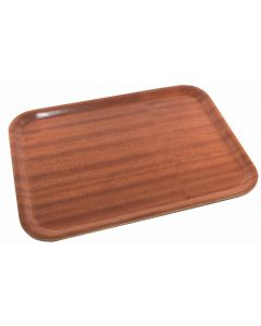 Darkwood Mahogany Tray 480 x 370mm [777942]