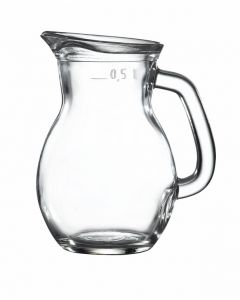 Classic Glass Jug Pack of 6 0.5L / 17.5oz [778178]