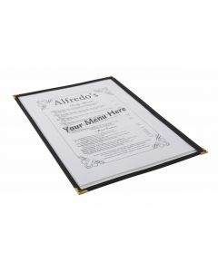 American Style Clear Menu Holder - 1 Page [778348]