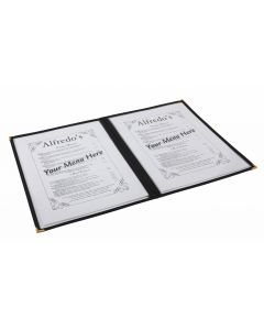 American Style Clear Menu Holder - 2 Page [778349]