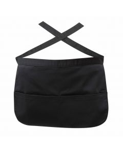 Black Money Pocket Apron [778382]