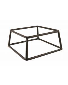 Genware Black Anti-Slip Buffet Riser 18 x 8cm [778617]
