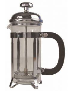 Cafetiere Chrome Pyrex 48oz 1.5 Litre 12 Cup [778764]