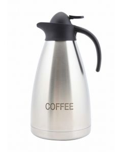 Coffee Inscribed S.Steel Contemporary Vac. Jug [778859]