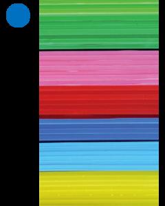 Cast Acrylic Sheet Royal Blue 600mm x 400mm x 3mm [44109]