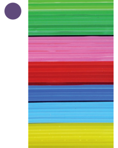 Cast Acrylic Sheet Violet 1000mm x 500mm x 3mm [44015]