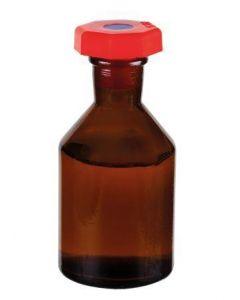 Academy Reagent Bottle Amber 50ml Plastic Stopper [3312]