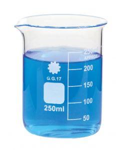 Beaker Borosilicate Glass 25ml [0122]