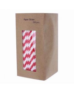 Paper Straws Pack of 250 [780566]
