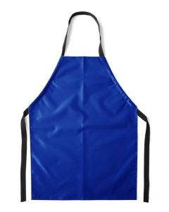 Flame Retardant Aprons Blue, Small (76cm) [45061]