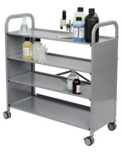 Gratnells Callero Plus 4 Shelf Trolley [8945]