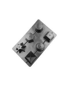Candle Mould Five Point Star [44584]