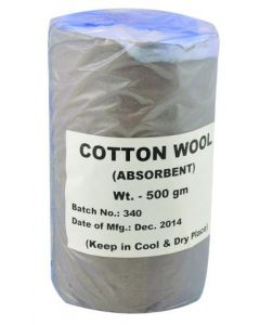 Cotton Wool Absorbent 500g Pack of 2 [9013]