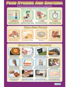 Poster - Food Hygiene and Bacteria (Paper) [77163]