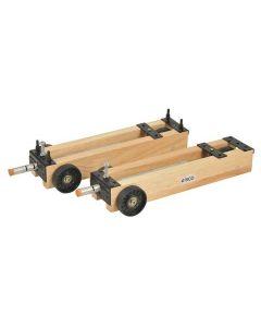 Dynamics Trolleys Wooden - Pair [0066]