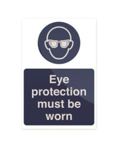 Eye Protection Must Be Worn Sign 200 x 300mm Rigid [45177]