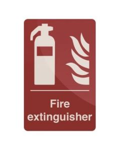 Fire Extinguisher Sign 200 x 300mm Self Adhesive [45182]