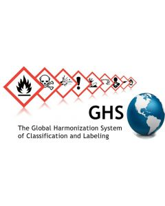 Hazard Warning Labels GHS Premium - Oxidiser [2001]