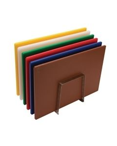 Chopping Boards (Set of 6), Chart (7316) & Rack (7314)