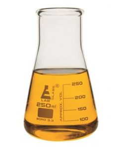 Labglass Conical Flasks 100ml Wide Neck Pk of 12 [92681]