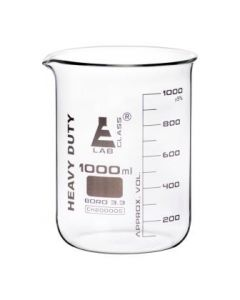 Labglass Beaker Heavy Duty 3.3. Boro. Glass 1000ml [80061]