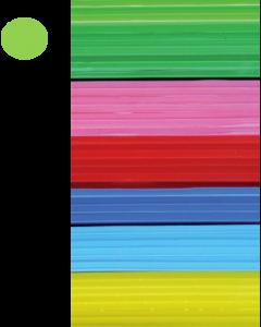 Cast Acrylic Sheet Lime Green 1000mm x 500mm x 3mm [44007]