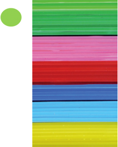 Cast Acrylic Sheet Lime Green 1000mm x 500mm x 5mm [44307]