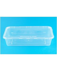Freezer, Microwave Tubs Pack of 50, 165 x 115 x 35mm [7362]