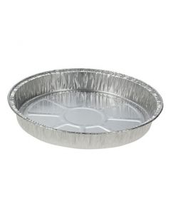 Flan Dishes, Pack of 100. 21.5cm x 2.4cm Deep [7883]