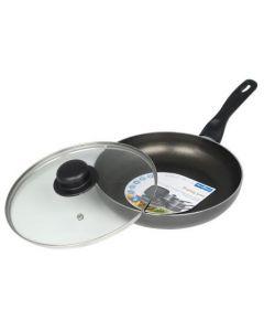 Fry Pan (Frying Pan) & Lid 26cm [7928]