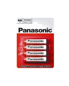Batteries AA Pack of 10 Panasonic [1913]