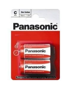 Batteries C Pack of 2 Panasonic [1916]
