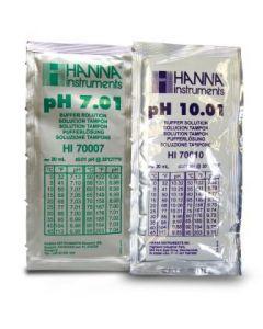 Buffer Solution pH7 & pH10 20ml Pack of 10 Sachets [5699]