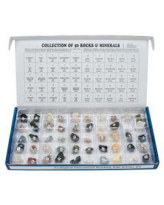 Rocks & Mineral Set of 50 [3172]