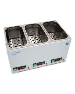 Clifton Digital Water Bath, Triple Chamber 3 x 2L [1663]